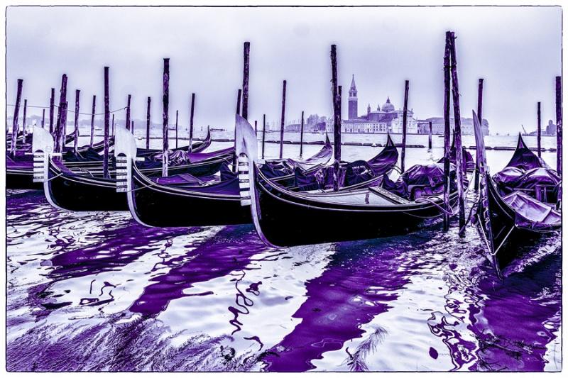 Mystik, Unnatürlichkeit - Violett